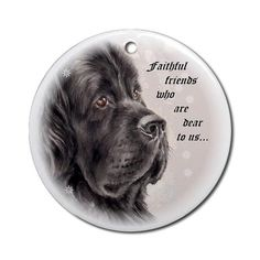 Newfie Ornament