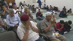 Local Muslims gathered Sunday night to pray for the Orlando victims and their families.