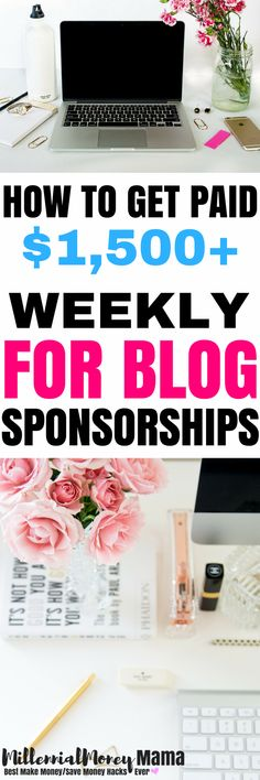 Wow, $1,500+ per week for blog sponsorships? Check out Jenn's strategy that helped her book these kind of rates on a brand new (less than 2 months old) blog. #makemoneyblogging #bloggingformoney #workfromhomeblogging #blogging #bloggingideas #bloggingincome #momblogger #mommyblogger | millennialmoneymama.com