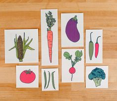 temporary veggie tattoos