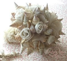 sea shell bouquet