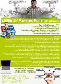 Curriculo criativo marketing porto alegre