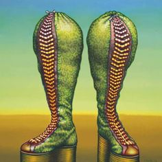 Ed Paschke 'Bag Boots', Oil on canvas, 132 x 132 cm. Hall Collection, courtesy of Hall Art Foundation © Ed Paschke. What Is Contemporary Art, Modern Art, Ed Paschke, Chicago Imagists, Community Art, Painting & Drawing, Rubber Rain Boots, Oil On Canvas, Pop Art