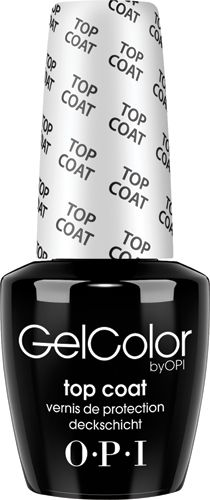 OPI gel top coat