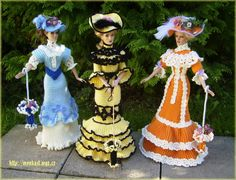 My crochet gown for tonner dolls - Monika St - Веб-альбомы Picasa