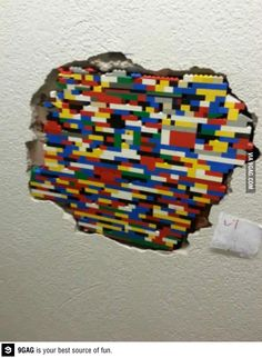 Trust me I'm an engineer. - If I ever live somewhere with a whole in the wall