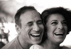 "Mel Brooks & Anne Bancroft. ""I get excited when I hear his key in the door. It's like, 'Ooh! The party's going to start.' "" - Anne Bancroft"