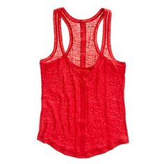 tank top, spring, madewell, red