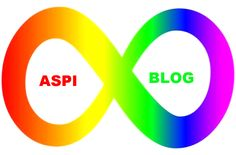 Introducing aspiblog followers to a new autism spectrum symbol, with grateful acknowledgement to thesilentwaveblog.
