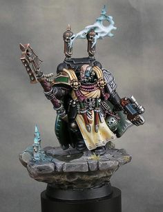 Limited Edition Chaplain Seraphicus Dark Vengeance by Wiltrichs