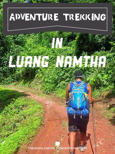 Trekking in Laos | Hiking Luang Namtha | Jungle Camping Laos | Adventure Trekking | Backpacking Laos