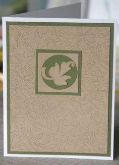 Masculine Stitched Card