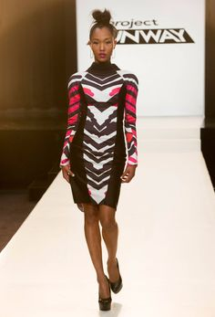 Recap: Project Runway Season 12 Episode 11 – Printastic #Project Runway   I've wanted this dress since she made it!