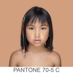 Humans as Pantone Colors Are Beautiful: The Bold Italic