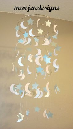 moon+mobile+star+mobile+baby+boy+mobile+baby+girl+by+marjendesigns,+$25.00