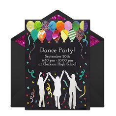 Disco invitations dance party disco party invitations dance free dance party invitations stopboris Images