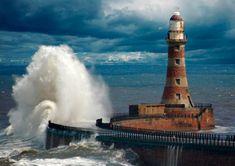 Roker lighthouse, UK.