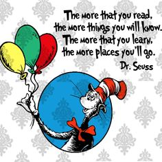 The More That You Read The More Places You'll Go svg,Dr. Seuss svg , d – Uranusdigital Dr Seuss Hat, Dr Seuss Week, Dr Suess, Dr Seuss Posters, Dr Seuss Shirts, Thing One Thing Two, Dr Seuss Nursery, Dr Seuss Birthday, Happy Birthday