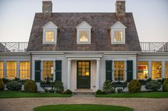Gorgeous on the inside and out, HGTV Dream Home 2015 is a classic Cape Cod home with timeless style and lush landscaping.