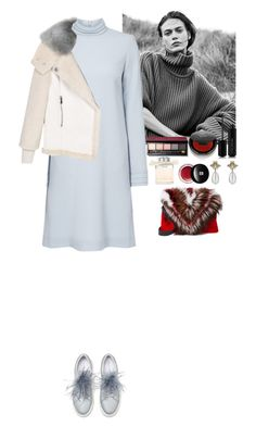 """""""Outfit"""" by eliza-redkina ❤ liked on Polyvore featuring Elena Ghisellini, Bobbi Brown Cosmetics, Rituel de Fille, Marc Jacobs, Chloé, Edward Bess, Gucci, StreetStyle, outfit and like"""