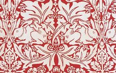 William Morris rabbits YES !!! This is the correct colour of 'Brother Rabbit' . I will research the other name for this pattern and if other colours are original.