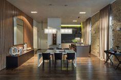 Loft Apartment in Kiev by Sergey Makhno / Intelligent architecture / Intzine