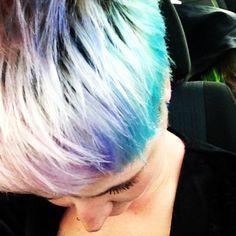 Pastel pixie hair
