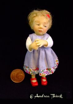 Andrea Thieck's doll made by Catherine Muniere