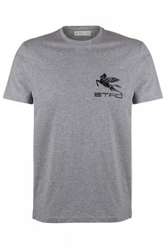 Etro Herren T-Shirt mit Logo Grau | SAILERstyle Herren T Shirt, Logos, Mens Tops, Shirts, Fashion, Trousers, Gowns, Moda, A Logo