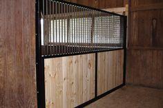 vertical wood, vertical rails, screened window