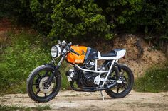 Caviga 350 Poptah by Ad Hoc ~ Return of the Cafe Racers