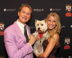 Carson Kressley and julianne Hough wiTh  WesTie