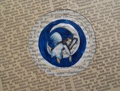 Schutzengel  (Bookart) von Dorle Koch: theodora auf DaWanda.com