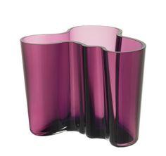Aalto vase 160 mm dark lilac NEW *loves*