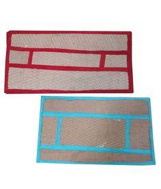 Homefab India Jute Mat - Set of 2 Rugs On Carpet, Carpets, Jute Mats, India, Farmhouse Rugs, Rugs, Goa India, Indie, Indian