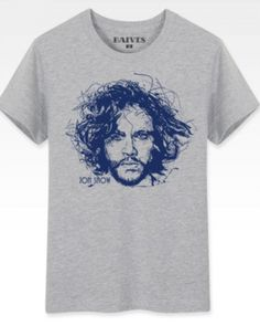 Game of Thrones Season 5 white t shirt for men Jon Snow A Song of Ice and Fire personalized t shirts