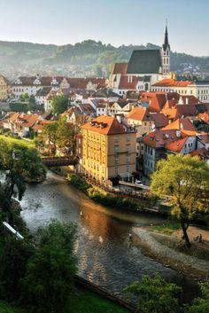 Cesky Krumlov, una ciudad checa menos conocida que ha permanecido como lo fue hace siglos.