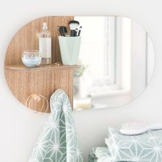Espejo con repisa 35x59 cm ABERDEEN