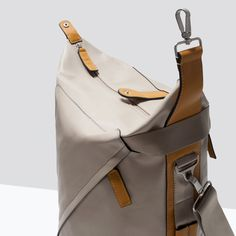 Image 3 of DUFFLE BAG WITH BUCKLE from Zara