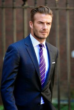 Polka Dots, Stripes, And Hearts : Style Icon Saturdays By Cate: David Beckham