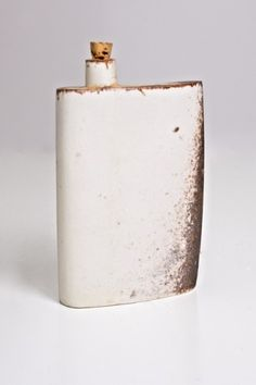 Tim Ayers Ceramic Flask