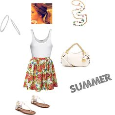 """Summer Cutie"" by cassidy128 ❤ liked on Polyvore"