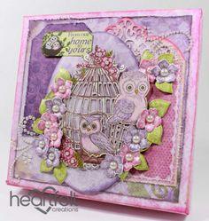 Heartfelt Creations | Owl Home Canvas