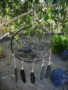 Hey, I found this really awesome Etsy listing at https://www.etsy.com/listing/77415972/dream-catcher-metal-windchime