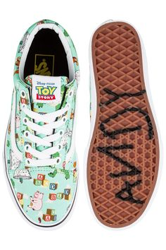 Vans x Toy Story Old Skool Shoe | Buzz Lightyear - Andy's Shoes
