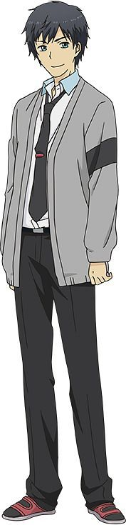 Arata Relife Anime, Tms Entertainment, Black Company, 27 Years Old, Manga, Cute, Arata, Fictional Characters, 3 Months
