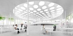 paul de ruiter architects: erasmus university student pavilion