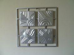 Abstract raam met vierkantjes