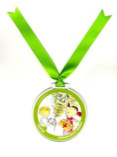 medaile pro vítěze školní soutěže Tajfun v ZŠ Satalice