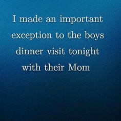 I made an important exception to the boys dinner visit tonight with their Mom http://www.theautismdad.com/2016/01/13/i-made-an-important-exception-to-the-boys-dinner-visit-tonight-with-their-mom/  PLEASE LIKE AND SHARE   #Autism #Family #SPD #SpecialNeedsParenting #Aspergers #Parenting #Sensory #ADHD #Awareness #AutsimAwareness #RobGorski #TheAutismDad #AutismDad #Divorce #SingleParenting #AutismParenting